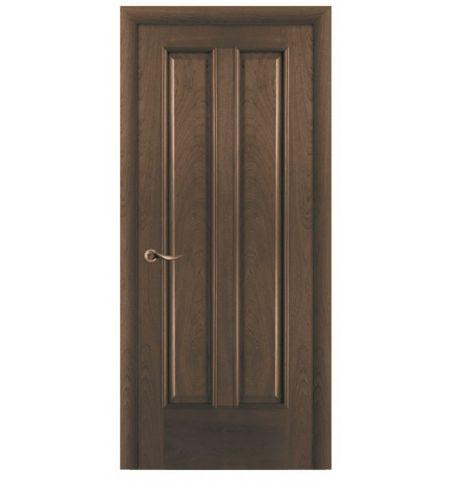 фото: Дверь ПГ Бристоль дуб миндаль из Шпон
