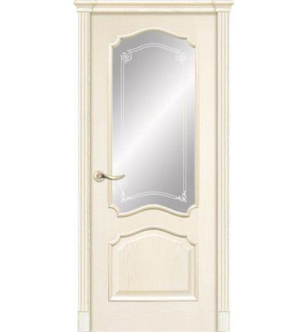 фото: Дверь ПО Сидней ясень карамель, стекло Моделло из Шпон