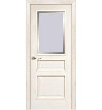 фото: Дверь ПО Пронто ясень карамель, стекло Фацет из Шпон