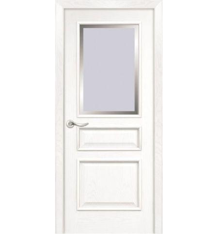 фото: Дверь ПО Пронто ясень бланко, стекло Фацет из Шпон