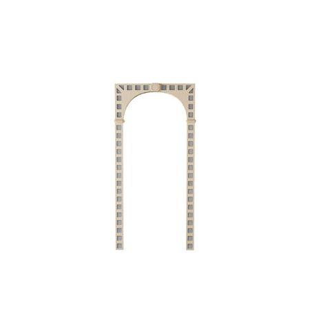 фото: Арка Токио, шпон беленый дуб, матир.зеркало
