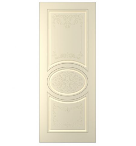 фото: Дверь Вальс, тон Крем (акрил)