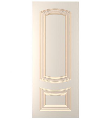 фото: Дверь Бергамо, тон Персиковый патина