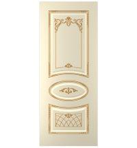 фото: Дверь Ария, тон Крем патина золото (акрил)