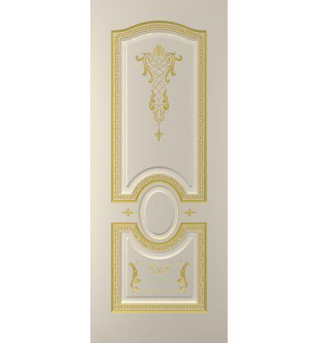 фото: Дверь Султан, тон Авангард, патина золото-I (акрил)