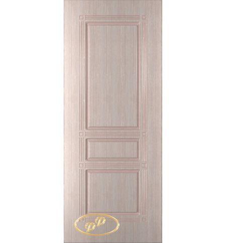 фото: Дверь Троя, шпон беленый дуб, пазы бежевые
