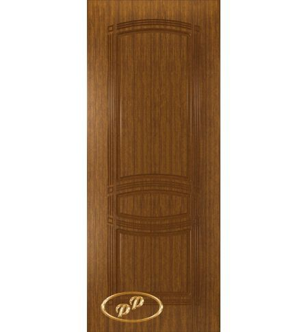 фото: Дверь Троя-1, шпон орех, пазы орех