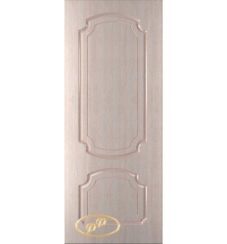 фото: Дверь Румакс, шпон белёный дуб, пазы бежевые