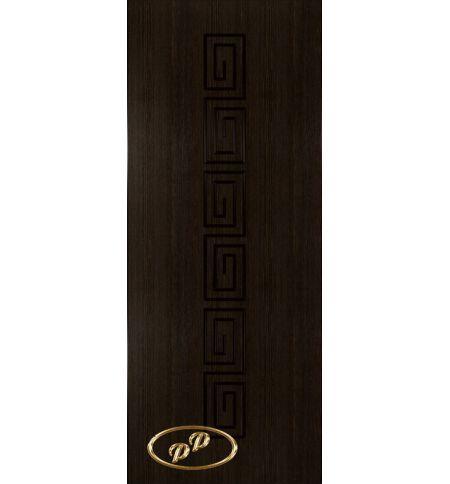 фото: Дверь Олимп, шпон мореный дуб, пазы черные