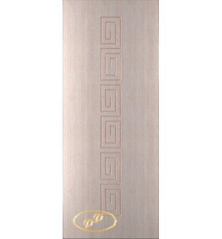 фото: Дверь Олимп, шпон беленый дуб, пазы бежевые