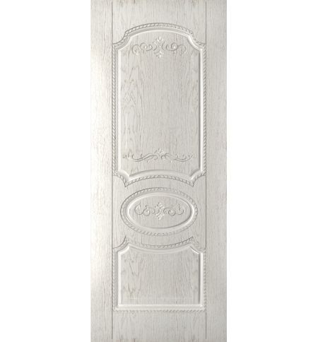 фото: Дверь Муза, шпон натур.дуб тон капучино