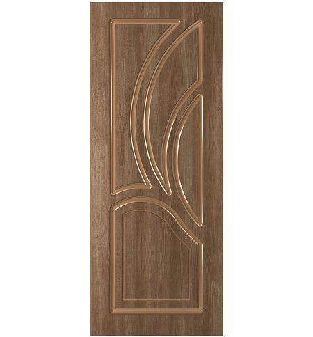 фото: Дверь Карелия-2, шпон натуральный дуб тон карамель