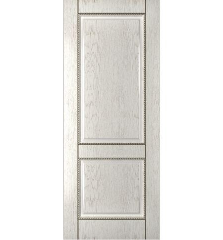 фото: Дверь Гранд-1, шпон натуральный дуб тон капучино