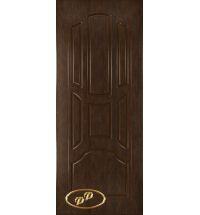 фото: Дверь Ампир-1, шпон натуральный дуб тон каштан