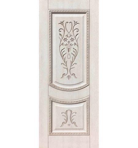 фото: Дверь ДП Сицилия, ПВХ № 4, патина капучино