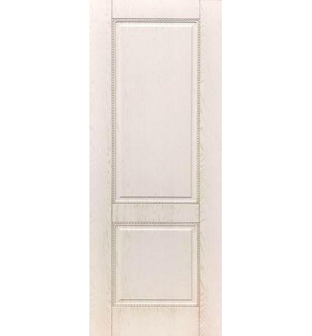 фото: Дверь ДП Гранд-1, ПВХ № 12, патина капучино