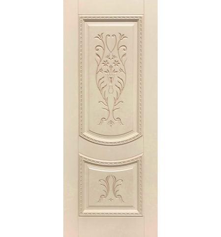 фото: Дверь ДП Сицилия, эмалит № 33, патина персик