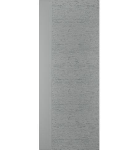 фото: Дверь Техно-3, шпон натур. дуб тон Серый