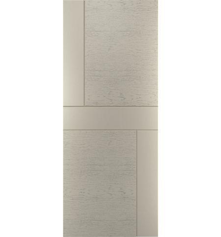 фото: Дверь Техно-2, шпон натур. дуб тон Светло-серый (1)