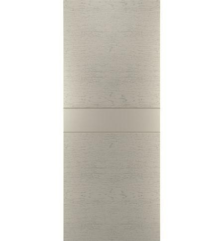фото: Дверь Техно-1, шпон натур. дуб тон Светло-серый