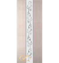 фото: Дверь Натали, шпон белёный дуб, зеркало рис.2