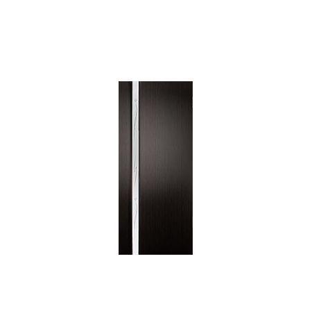 фото: Дверь межкомнатная 2-Палермо, шпон мореный дуб, стекло белый триплекс рис.4