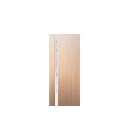 фото: Дверь межкомнатная 2-Палермо, шпон беленый дуб, стекло белый триплекс рис.4