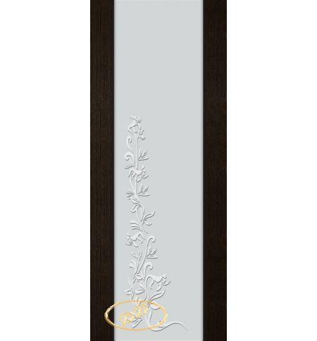 фото: Дверь Палермо, шпон мореный дуб, стекло белый триплекс рис.8