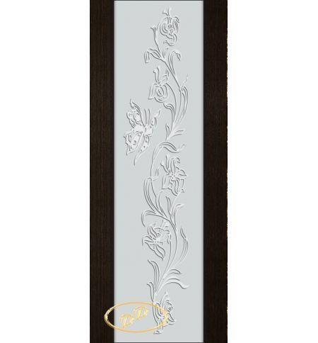 фото: Дверь Палермо, шпон мореный дуб, стекло белый триплекс рис.7