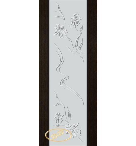 фото: Дверь Палермо, шпон мореный дуб, стекло белый триплекс рис.6