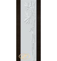 фото: Дверь Палермо, шпон мореный дуб, стекло белый триплекс рис.29