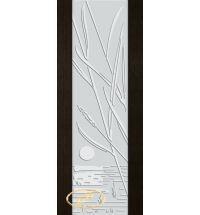 фото: Дверь Палермо, шпон мореный дуб, стекло белый триплекс рис.28