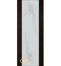 фото: Дверь Палермо, шпон мореный дуб, стекло белый триплекс рис.27