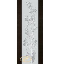 фото: Дверь Палермо, шпон мореный дуб, стекло белый триплекс рис.26