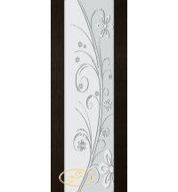 фото: Дверь Палермо, шпон мореный дуб, стекло белый триплекс рис.24