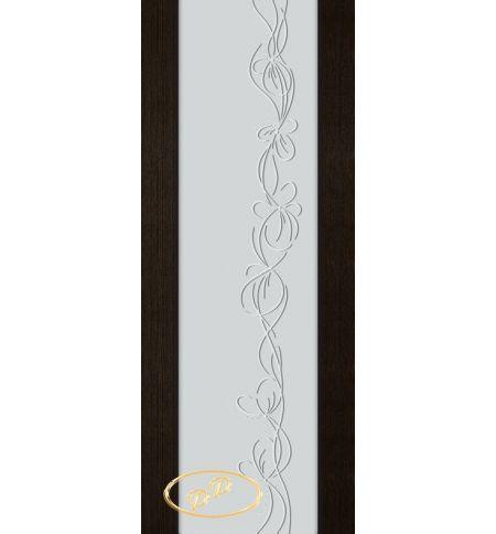 фото: Дверь Палермо, шпон мореный дуб, стекло белый триплекс рис.22