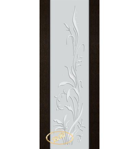 фото: Дверь Палермо, шпон мореный дуб, стекло белый триплекс рис.20