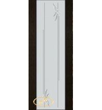 фото: Дверь Палермо, шпон мореный дуб, стекло белый триплекс рис.19