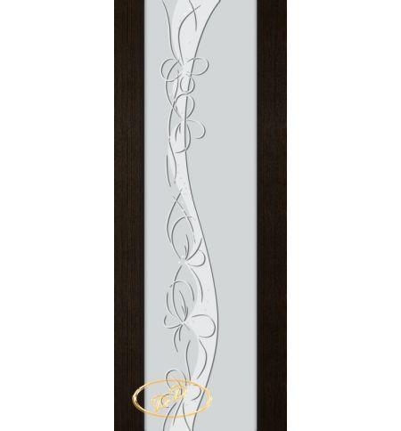 фото: Дверь Палермо, шпон мореный дуб, стекло белый триплекс рис.17
