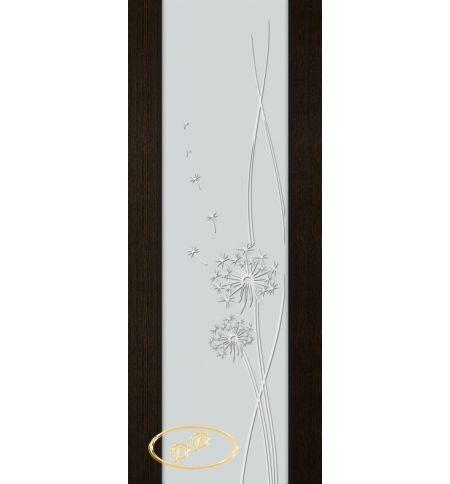 фото: Дверь Палермо, шпон мореный дуб, стекло белый триплекс рис.16