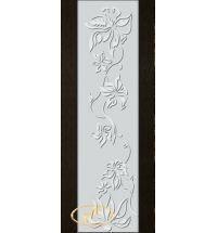 фото: Дверь Палермо, шпон мореный дуб, стекло белый триплекс рис.15