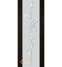 фото: Дверь Палермо, шпон мореный дуб, стекло белый триплекс рис.14