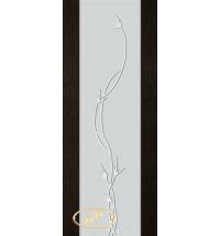 фото: Дверь Палермо, шпон мореный дуб, стекло белый триплекс рис.12
