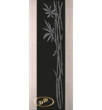фото: Дверь Палермо, шпон беленый дуб, стекло черный триплекс рис.29