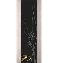 фото: Дверь Палермо, шпон беленый дуб, стекло черный триплекс рис.16