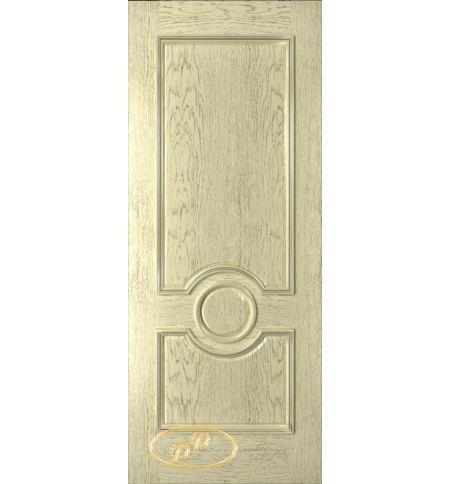 фото: Дверь Версаль, шпон натур.дуб тон слоновая кость