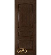 фото: Дверь Алина, шпон натуральный дуб тон каштан