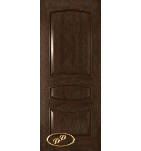 фото: Дверь Алина, шпон натур.дуб тон каштан