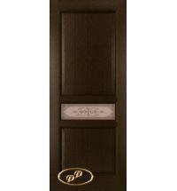 фото: Дверь Орион, шпон венге, стекло матовое бронза рис.Орион
