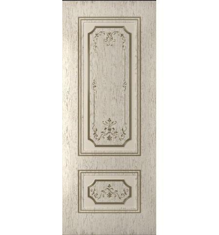 фото: Дверь Порта-1, шпон натуральный дуб тон капучино